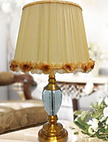 cheap -Artistic Crystal Table Lamp For Crystal 220-240V Khaki