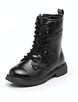 cheap -Boys' Shoes PU Winter Fall Snow Boots Comfort Boots Mid-Calf Boots for Casual Black