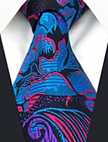 cheap -Men's Vintage Work Casual Silk Necktie