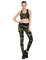cheap -Women's Retro Cotton Opaque Print Legging,Floral Print Green