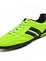 Недорогие -Мальчики обувь Полиуретан Весна Осень Удобная обувь Спортивная обувь Voetbal для Атлетический Повседневные Черный Зеленый Синий
