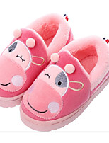 cheap -Girls' Shoes Fleece Spring Fall Comfort Slippers & Flip-Flops for Casual Pink Light Grey Coffee Purple