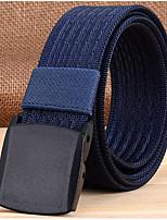cheap -Men's Other Waist Belt, Black Light Brown Army Green Khaki Royal Blue Casual