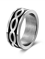 cheap -Men's Women's Band Rings Rock Gift Stainless Steel Waves Jewelry Party Bar