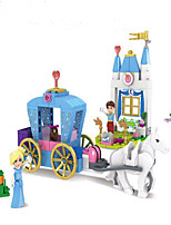 cheap -Building Blocks Toys Fairytale Theme Architecture Exquisite Parent-Child Interaction Mythology ABS Boys Girls Pieces