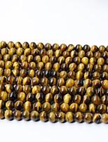 cheap -DIY Jewelry 65 pcs Beads Crystal Yellow Round Bead 0.6 DIY Bracelet Necklace