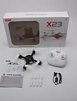 abordables -RC Dron SYMA X23 4 Canales 6 Ejes 2.4G No Quadccótero de radiocontrol  Altura Hacia adelante hacia atrás Retorno Con Un Botón Quadcopter