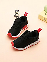 cheap -Boys' Shoes Tulle Spring Summer Comfort First Walkers Athletic Shoes Lace-up for Athletic Casual Pink Black White