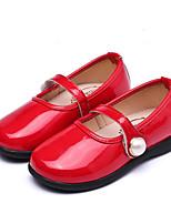 economico -Da ragazza Scarpe Finta pelle Primavera Autunno Comoda Scarpe da cerimonia per bambine Ballerine per Casual Nero Rosso Rosa