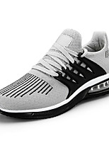cheap -Men's Shoes Knit Spring Summer Comfort Sneakers for Casual Outdoor Black/Red Gray Black