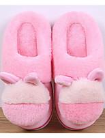 abordables -Fille Chaussures Laine synthétique Printemps Automne Confort Chaussons & Tongs pour Décontracté Gris Pêche Marron Rose