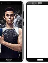 abordables -Protector de pantalla para Huawei Honor 7X Vidrio Templado 1 pieza Protector de Pantalla Alta definición (HD) Dureza 9H A prueba de
