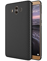 cheap -Case For Huawei Mate 10 Pattern Back Cover Lines / Waves Hard Carbon Fiber for Mate 10 Huawei