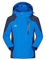 cheap -Men's Hiking Jacket Outdoor Windproof Rain-Proof Jacket Top Full Length Visible Zipper Camping / Hiking Climbing Cycling / Bike Back