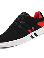 Недорогие -обувь Кашемир Весна Осень Светодиодные подошвы Кеды для Повседневные Черный Серый Черно-белый Черный/Красный