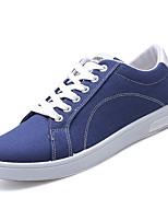 Недорогие -Муж. обувь Полиуретан Весна Осень Удобная обувь Спортивная обувь для на открытом воздухе Черный Синий Хаки