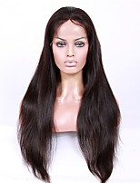 cheap -Premierwigs Glueless Human Hair Lace Front Wigs Brazilian Human Hair Wigs Natural Straight Wigs For African Women