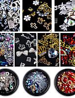 cheap -Rhinestones Nail Jewelry Nail Glitter Fashionable Jewelry Luxury Jeweled Multi-colored Pattern Nail Art Design