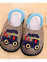 cheap -Boys' Shoes Fabric Spring Fall Comfort Slippers & Flip-Flops for Casual Green Brown