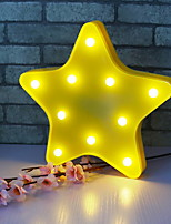 cheap -1set LED Night Light AA Batteries Powered Geometric Pattern