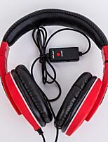 abordables -Ditmo dm-8020 filaire casque serre-tête jeu dynamique lumière colorée avec 120cm câble 3.5mm