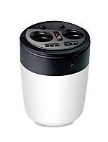 Недорогие -usmei b1 два в одном автомобиле порт сигареты двойной USB 3,1 чашки автомобильное зарядное устройство с 5400 mah полимерное напряжение