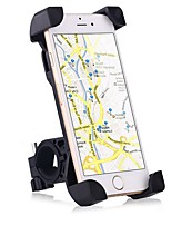cheap -Bike Mobile Phone mount stand holder Adjustable Stand 360° Rotation Universal Buckle Type Slip Resistant Polycarbonate Holder
