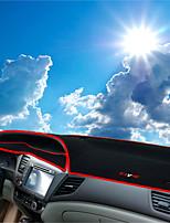 Недорогие -автомобильный Маска для приборной панели Коврики на приборную панель Назначение Honda 2011 2012 2013 2014 2015 2016 Civic