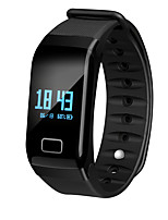 economico -Bracciale smart Bluetooth Portatile Pedometro Fitness Tracker Monitoraggio del sonno Bluetooth 4.0 Android 4.4 iOS No Slot Sim Card