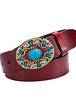 cheap -Leather Waist Belt,Brown Black Red Vintage Casual