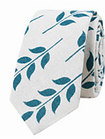 cheap -Men's Cotton Necktie - Print