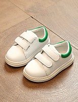cheap -Girls' Shoes PU Spring Fall Comfort Sneakers for Casual Green Red Black