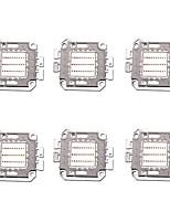 Недорогие -6pcs высокой мощности 30w 1400lm полный цвет светодиодный чип dc68-77v