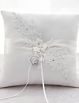 cheap -Satin Ring Pillow Wedding All Seasons
