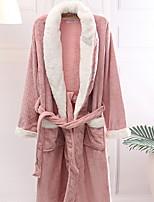 abordables -peignoir de bain frais, qualité supérieure 100% coton 100% polyester