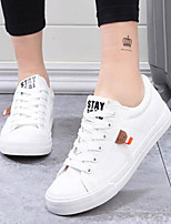 cheap -Women's Shoes Canvas Summer Comfort Sneakers Flat Closed Toe for Casual Outdoor Blue Black White