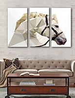 Недорогие -Холст для печати Деревня Modern,3 панели Холст Вертикальная С картинкой Декор стены Украшение дома