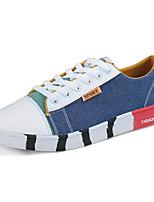 Недорогие -Муж. обувь Полиуретан Весна Осень Удобная обувь Кеды для на открытом воздухе Коричневый Зеленый Синий