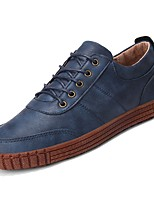 cheap -Men's Shoes PU Spring Fall Comfort Sneakers for Casual Coffee Dark Blue