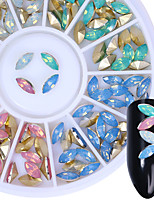 cheap -Foil Glitter Bling Bling Multi-colored Nail Art Design