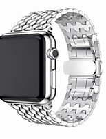 cheap -Watch Band for Apple Watch Series 3 / 2 / 1 Apple Wrist Strap Classic Buckle Stainless Steel