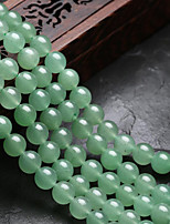 cheap -DIY Jewelry 48 pcs Beads Crystal Green Round Bead 0.8 cm DIY Necklace Bracelet