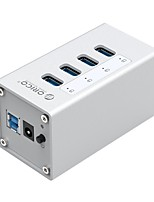 cheap -ORICO A3H7   Aluminum USB 3.0 HUB ORICO 7 Port HUB with 12V2A Power Adapter and 3.3Ft. USB3.0 Date Cable