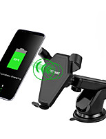 cheap -QI Wireless Charger Car Stick Mount Stand Holder Fast Charging 2.0 For Samsung Note 8 S8 Plus S7 For IPhone X8  Car Suction Mount Stand