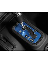 abordables -panneaux d'engrenages automobiles couvre diy intérieurs de voitures pour jeep toutes les années wrangler aluminium métal