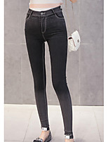 cheap -Women's Polyester Medium Solid Color Legging,Solid This Style is TRUE to SIZE.