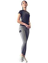 Недорогие -Женский Activewear Set Быстровысыхающий С защитой от ветра Воздухопроницаемость Компрессионная одежда Бег Велосипедный спорт На открытом