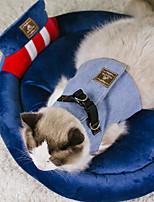 Недорогие -Кошка Собака Кровати Животные Коврики и подушки Однотонный Дышащий Мягкий Для домашних животных