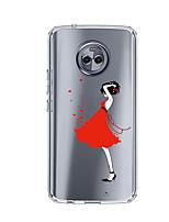 baratos -Capinha Para Motorola E4 Plus Estampada Capa Traseira Mulher Sensual Macia TPU para Moto X4 Moto E4 Plus Moto E4