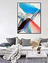 cheap -Abstract Oil Painting Wall Art,Aluminum Alloy Material With Frame For Home Decoration Frame Art Indoor